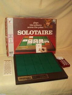 SOLOTAIRE GAME SOLITAIRE MILTON BRADLEY 4330 LUCILLE LUCY BALL 1973 FAMILY #MiltonBradley