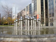 La fontaine de Pol Bury