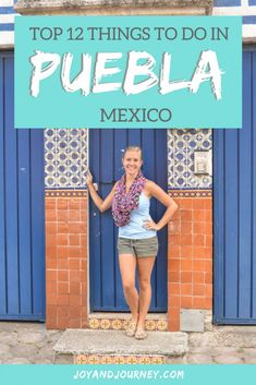 Top 12 Things to Do in Puebla Mexico - Puebla often gets ignored for its bigger and more famous neighbor (Mexico City), but it shouldn't! Fabulous food, cute cafes, the oldest still-inhabited town in the Americas (Cholula), volcano views and SO MUCH MORE make it worthy of a stop on your next trip to Mexico.