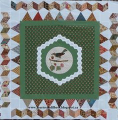 2016: Empire Quilt along from Faeries and Fibres:  Karen H