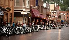 Downtown Deadwood comes to life during Sturgis Bike Week.