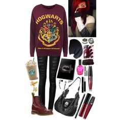 """""""Coffee Date with Density"""" by malfoymylove on Polyvore"""