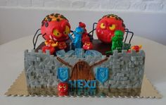 Lego Nexo Knights cake                                                       …