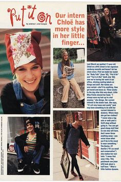 'Sassy' Magazine's Jane Pratt Talks Chloe Sevigny's Intern Days Chloe Sevigny, Chloe Nyc, Sassy Magazine, Videos Instagram, Fashion Catalogue, Her Style, Teen Fashion, Retro Fashion, 1990s