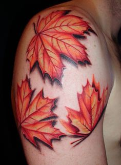 I want a leaf tattoo so bad :D