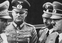 Hitler's birthday. W. Goering, W. Keitel, and H. Himmler