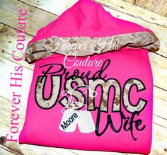 Proud USMC Wife Repin if your a proud Marine Wife!. Great for this winter :D   Milso Military Wives Military wife