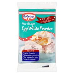 Dr Oetker Free Range Egg White Powder