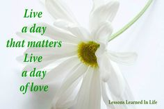 Live a Day of Love