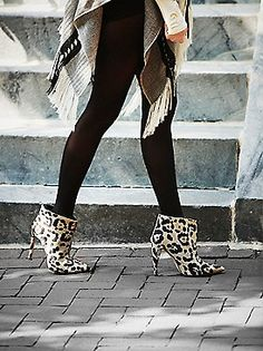 Mode Collective Celebre Point Boot at Free People Clothing Boutique Best Winter Shoes, Fall Shoes, Summer Shoes, Free People Boots, Leopard Boots, Boho Outfits, Shoe Boots, Moccasin Boots, Women's Shoes