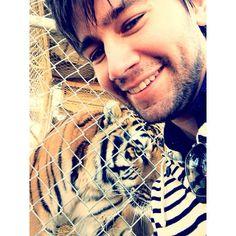 Torrance's Tiger Selfie!