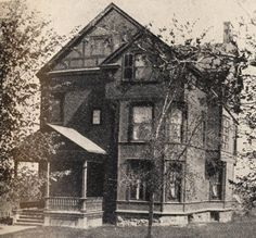 The first chapter house for women built by women - Alpha Phi's first house at Syracuse University. See http://wp.me/p20I1i-NG. #sororityhistory #alphaphi #syracuseuniveristy