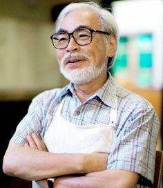 Hayao Miyazaki during a recent interview with The Asahi Shimbun at Studio Ghibli in Koganei, western Tokyo (Makoto Kaku)