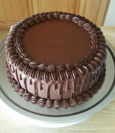 67 ideas for birthday cake chocolate buttercream frosting recipes Chocolate Cake Frosting, Buttercream Cake, Chocolate Cakes, Birthday Cake Decorating, Cake Decorating Tips, Chocolate Birthday Cake Decoration, Icing Recipe, Frosting Recipes, Cake Recipes