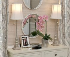 Valerie Parr Hill, Beautiful Homes, Vanity, Mirror, Furniture, Home Decor, House Of Beauty, Dressing Tables, Powder Room