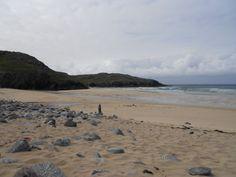 A typical deserted beach