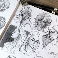 how to draw mouths Pencil Art Drawings, Art Drawings Sketches, Illustration Art, Illustrations, Arte Sketchbook, Sketchbook Inspiration, Art Reference Poses, Aesthetic Art, Cute Art