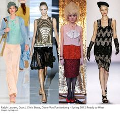 art deco from the 1920s - a throw back to the 20's in fashion 2012