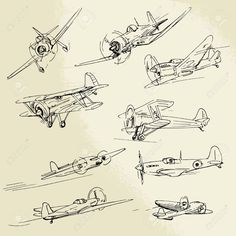 War Plane Stock  Illustration
