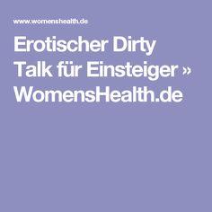 Erotischer Dirty Talk für Einsteiger » WomensHealth.de