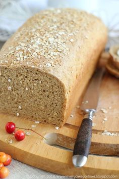 nocny chleb owsiany Banana Bread, Eat, Food, Kitchen, Cuisine, Kitchens, Meals, Stove, Cucina