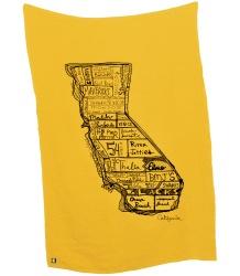 Mini & Maximus California Throw Blanket