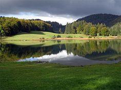 le lac de Genin (jura)