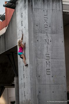 Portfolio: Urban Climbing in Lyon by PG - Acte 1 Planetgrimpe