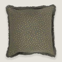 Mirage Dot Grey Cushion Cover