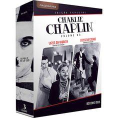 DVD Charlie Chaplin: Longa Metragem - Volume 3  (Duplo)