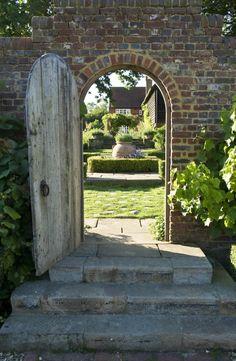 Formal Brick Garden Archway