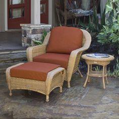 Tortuga Outdoor Lexington Mojave Wicker Patio Conversation Chair