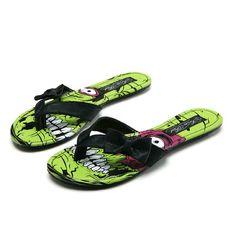 Style Addiction - Iron Fist Zombie Stomper Flip Flop Sandals, $24.99 (http://www.styleaddiction.com/iron-fist-zombie-stomper-flip-flop-sandals/)