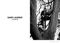 Grace Hartzel Stars in Part 2 of Saint Laurents Fall 2014 Campaign