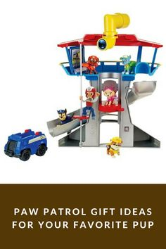 Paw Patrol Gifts For Your Favorite Pup. Great toddler gift ideas that also make for a great gift for older kids. The Paw Patrol tv show teaches many lessons to kids all of ages. Kids learn teamwork, problem solving and how to use their imagination. There are so many Paw Patrol toys that they make for the perfect birthday gift idea.