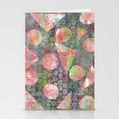 Gel Print 3 Stationery Cards by Rachel Winkelman - $12.00