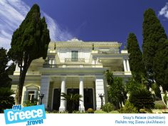 Sissy's Palace in Corfu by http://ww.corfu-tours.gr/