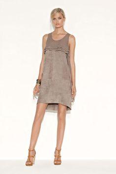 Liu Jo suede dress
