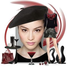 """Nightcap"" by rozelle on Polyvore"