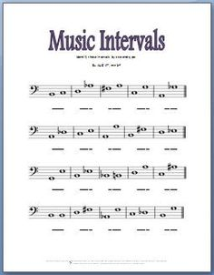 Free Printable Music Theory Worksheets | Ear Training and Improv