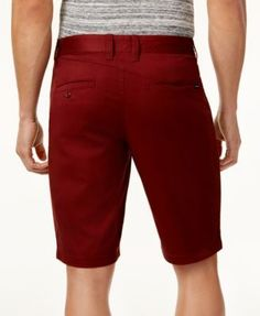 Volcom Men's Straight-Fit Shorts - Red 40