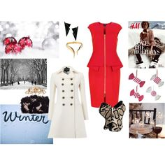 """Christmas Time is Here!"" by mademoiselle-secreta on Polyvore"