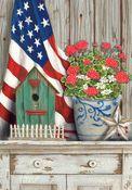 Americana Memories Garden Flag  $11.00