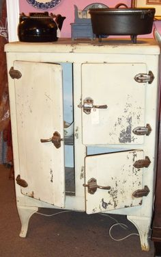 Domelre 1st Electric Refrigerator 1913 Compressor On Top