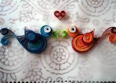 quilled birds