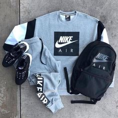 Outfit Or . Dope Outfits For Guys, Swag Outfits Men, Cute Lazy Outfits, Stylish Mens Outfits, Tomboy Outfits, Nike Outfits, Fashion Outfits, Fashion Shoes, Hype Clothing
