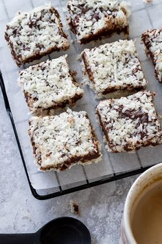Chocolate Coconut Bars - These simple and delicious chocolate bars require no baking and are completely sugar free! - #recipe by #eatwell101