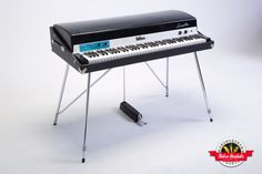 The perfect rendition of a 1972 Fender Rhodes stage piano with a wonderful option – having a well-crafted Stewart Preamp with active treble / bass boost plus filter controls, or the original factory stage controls – you decide. The tone of this '72 is the epitome of an early Fender Rhodes, and you'll instantly fall in love.