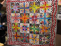 quilting patterns with four colors | at that beautiful Freddy Moran quilt? No one has the sense of color ...