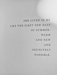 "'Infinitely Possible' from ""Love Her Wild"" #atticuspoetry #loveherwild #atticus"